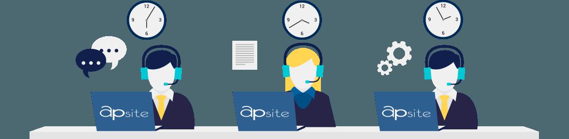 Специфіка роботи над підтримкою сайту в Apsite
